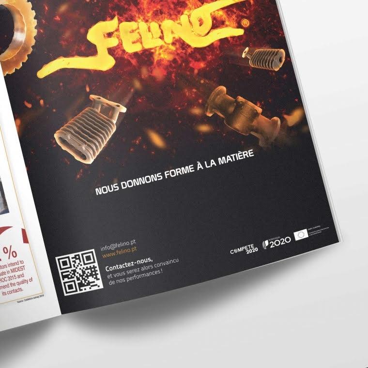 Felino advertisement