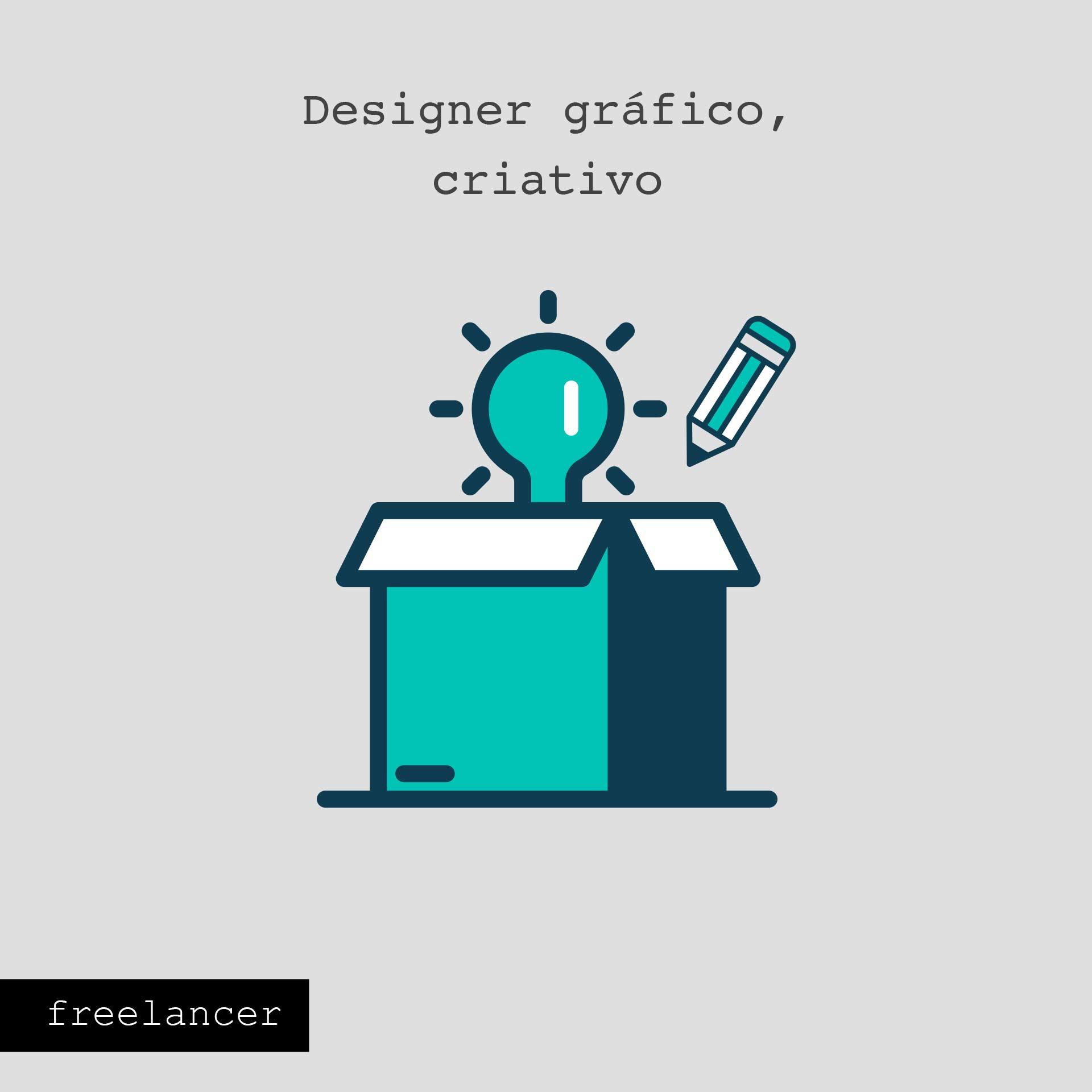 Oportunidade Freelancer designer gráfico - Porto